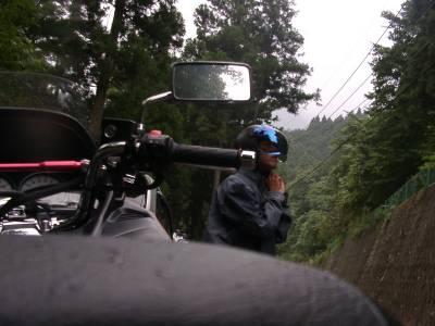 ジェットヘルメットに装備変更。