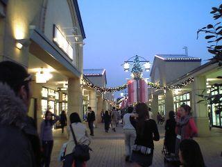 黄昏の街角