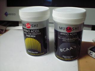 MUSASHIアミノ酸「KUAN」と「NI」