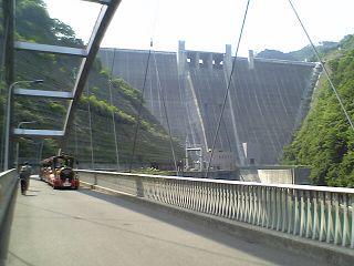 日本4位の巨大ダム、宮ガ瀬の全貌