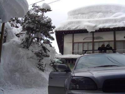 豪雪でした