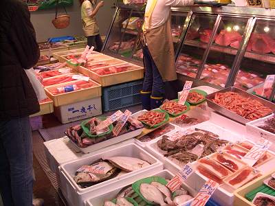 様々な魚介類